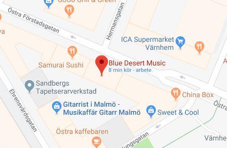 Google karta blue deser music